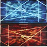 玩具的上帝卡 ラバープレイマット 标准型 バーニングレッド & タクティクスブルー 60× 60cm 尺寸2mm 加厚加肥加大码 . 仅此一件两用的 デュエルフィールド 准备 . 所有卡游戏使用 , 可通用高弹力游戏垫终于推出 . 游戏王 デュエマ DM MTG 、 ヴァイスシュバルツ 先锋 Buddyfight 等