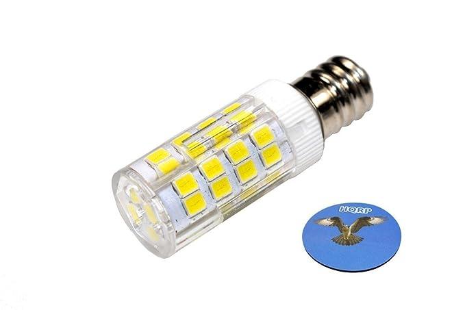 HQRP - Bombilla LED (E12, 220 V, luz blanca fría, para Brother