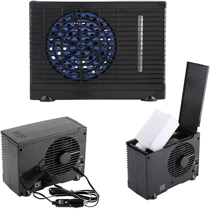 Zerodis 12 V Tragbare Auto Mini Auto Lkw Klimaanlage Kühler Lüfter Autofenster Belüftungsventilator Kühler Auto