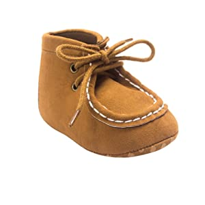 Weixinbuy Baby Boys Soft Sole First Walkers Shoes Warm Short Boots
