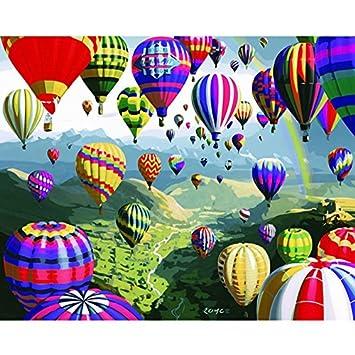 LHZ Kit de Pintura al Óleo por Números, para Adultos, Niños ...