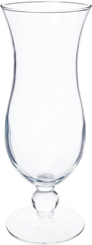 Libbey 14.5-Ounce Hurricane Glass, Clear, 4-Piece