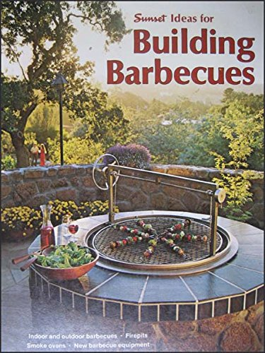 1970's Building Barbecues Book, Mid Century Designs