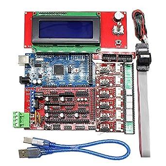 Kit de impresora 3D CNC para Arduino Mega 2560 R3 + RAMPS 1.4 ...