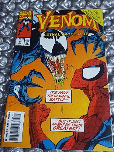 Venom Lethal Protector #6 - Marvel Legends Reprint - RARE - Marvel Comics 1993 ()