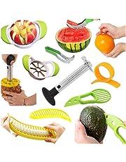 Cocina Cortadores para fruta - Cortador de Sandía Melón - Cortapiñas - Cortador de manzanas -
