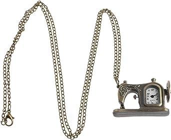Erisl Reloj de Bolsillo para máquina de Coser, Cuarzo, Estilo ...