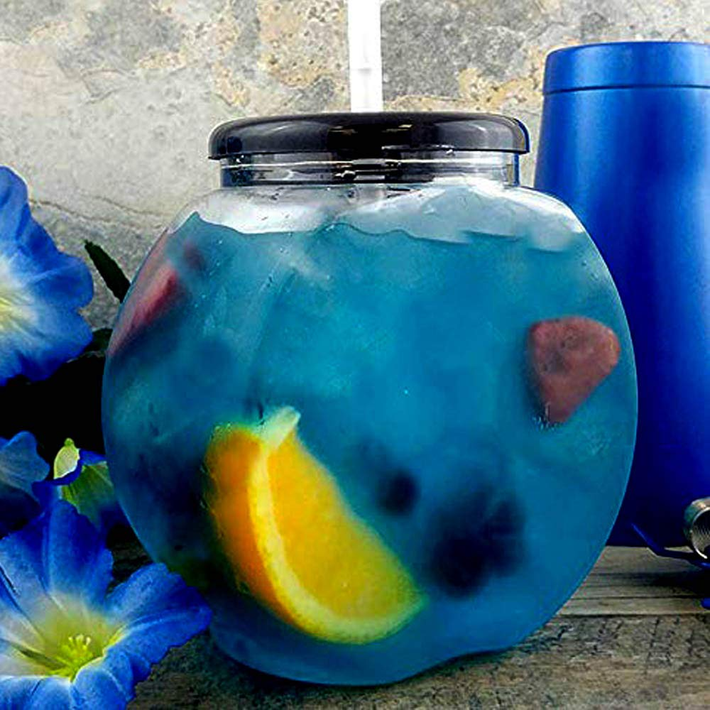 BarConic Flat Sided Fishbowl - 40 ounce