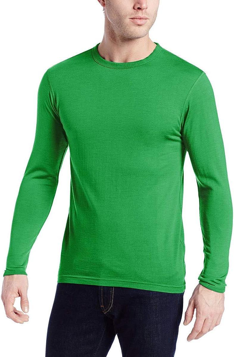 Minus33 Merino Wool 718 Ticonderoga Men's Lightweight Crew - Anti Odor No Itch Renewable Fabric