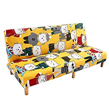 Funda de sofá cama elástica sin brazos, funda de sofá sin brazos ...