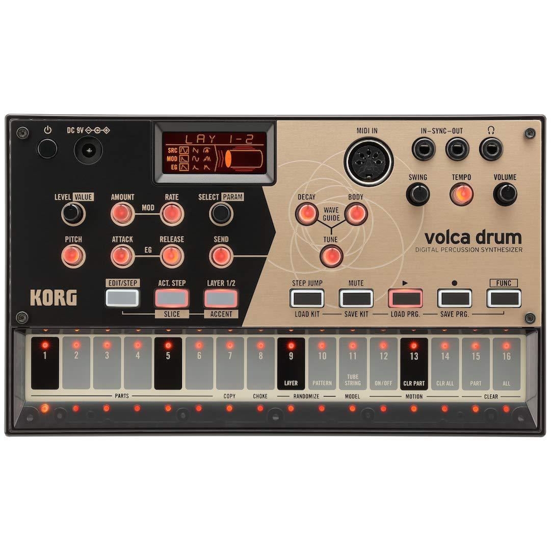Korg Volca Drum Physical Modeling Drum Synthesizer by Korg