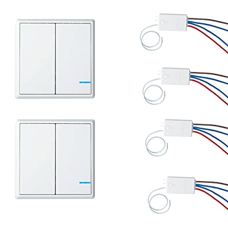 nineleaf wireless lights switch kit, no wiring, quick create or relocate  on/off