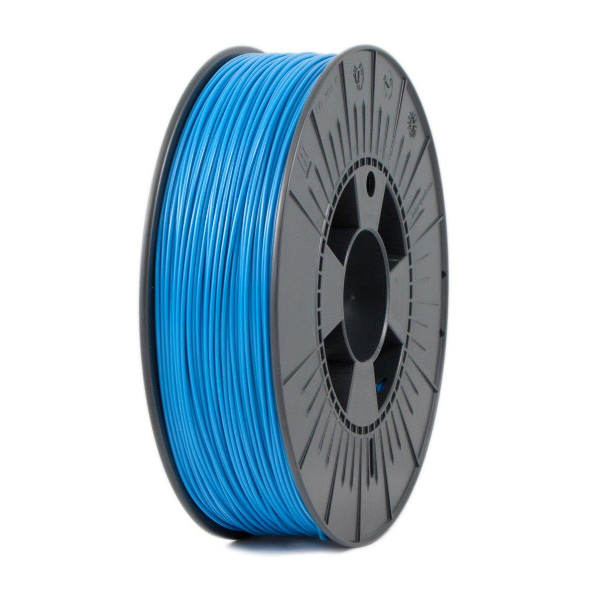 Ice Filaments ICEFIL1PLA007 Filamento PLA, 1,75 mm, 0,75 kg, Azul