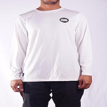 Nitro Snowboards District Ropa Camisetas Termicas, Hombre, Blanco, L