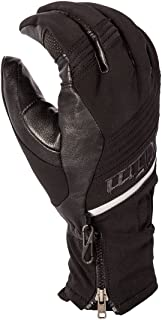 Klim Grey//Black Mens Inversion Windproof Snowmobile Gloves Snocross 2017