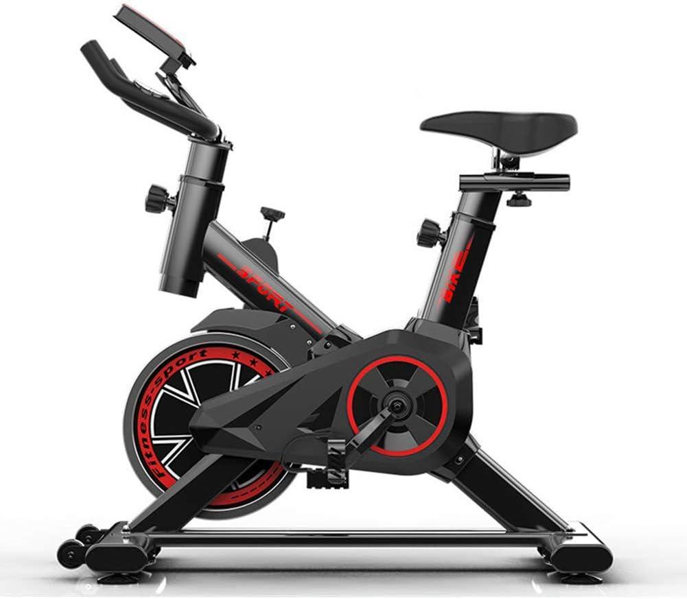 RXRENXIA Home Spinning Bike, Bicicleta De Ejercicio De Ciclismo ...
