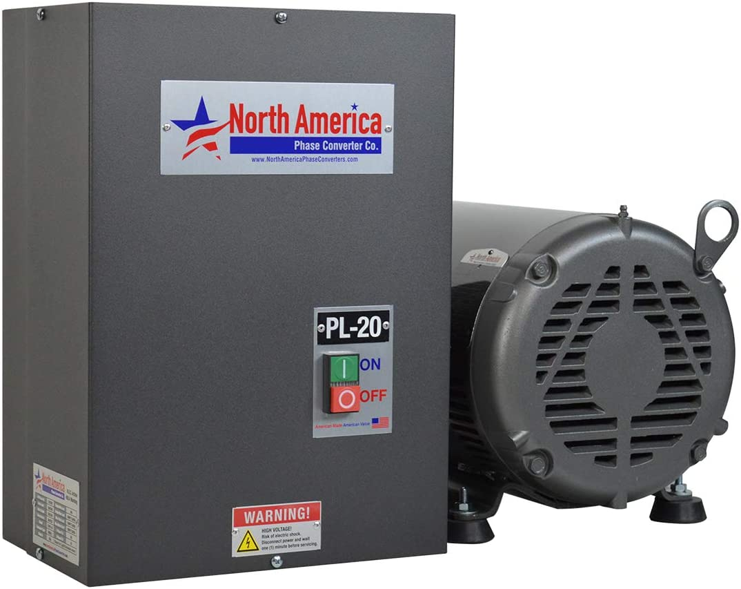 PL-20 Pro-Line 20HP Rotary Phase Converter - Single to Three Phase Converter