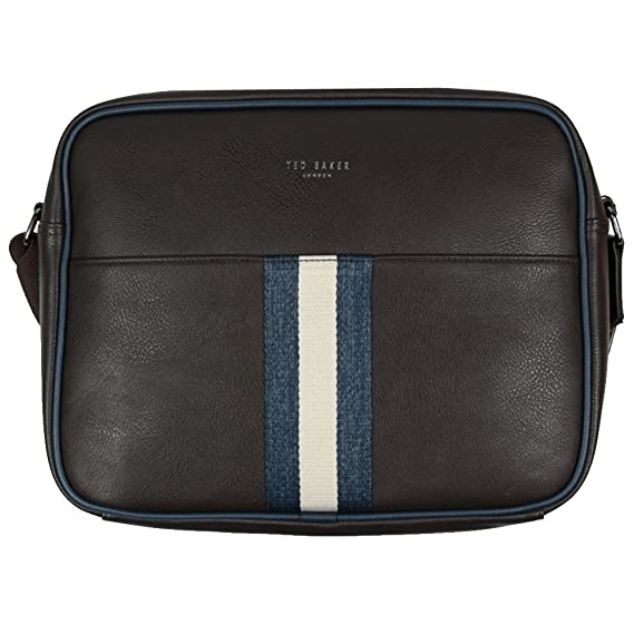 Ted Baker Kestral Brown PU Webbing Despatch Bag One Size  Amazon.co.uk   Clothing e3aba51aeaeac