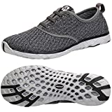 ALEADER Women's Stylish Quick Drying Water Shoes Gray 6.5 D(M) US