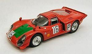 BEST MODEL BT9402 ALFA ROMEO 33.2 N.16 NURBURGRING 1968 GIUNTI-GALLI 1:43 MODEL
