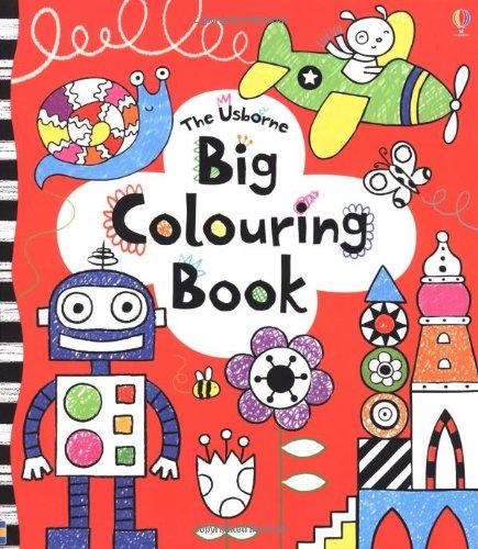 big colouring book usborne colouring books amazoncouk anna milbourne 9781409524304 books - Colouring Books