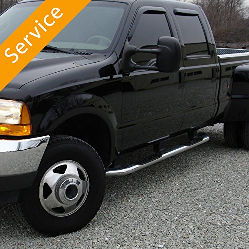 Step Rail or Running Board Installation - ()