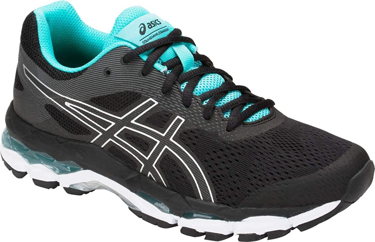 Buy ASICS Gel-Superion 2 Women's Running Shoe, Black/Silver ...