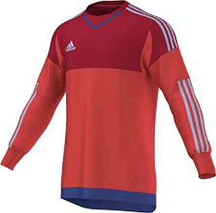 ec89ae7e8 adidas Men s Goalkeeper Jersey Top 15 Goalkeeper Shirt  Amazon.co.uk   Sports   Outdoors