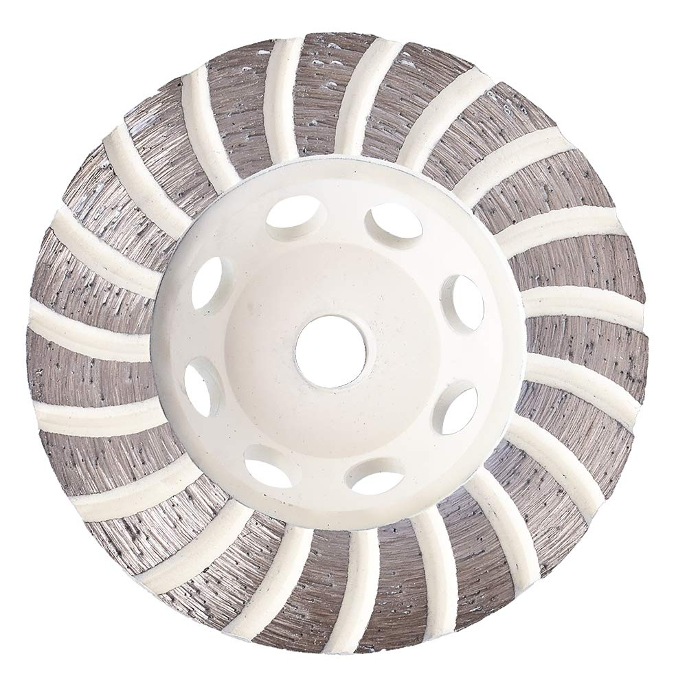 GoYonder 115mm Diamond Cup Grinding Wheel Turbo for Grinder Masonry Stone Concrete Grinding with 5//8-11 Thread