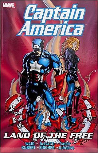 Amazon Com Captain America Land Of The Free Captain America