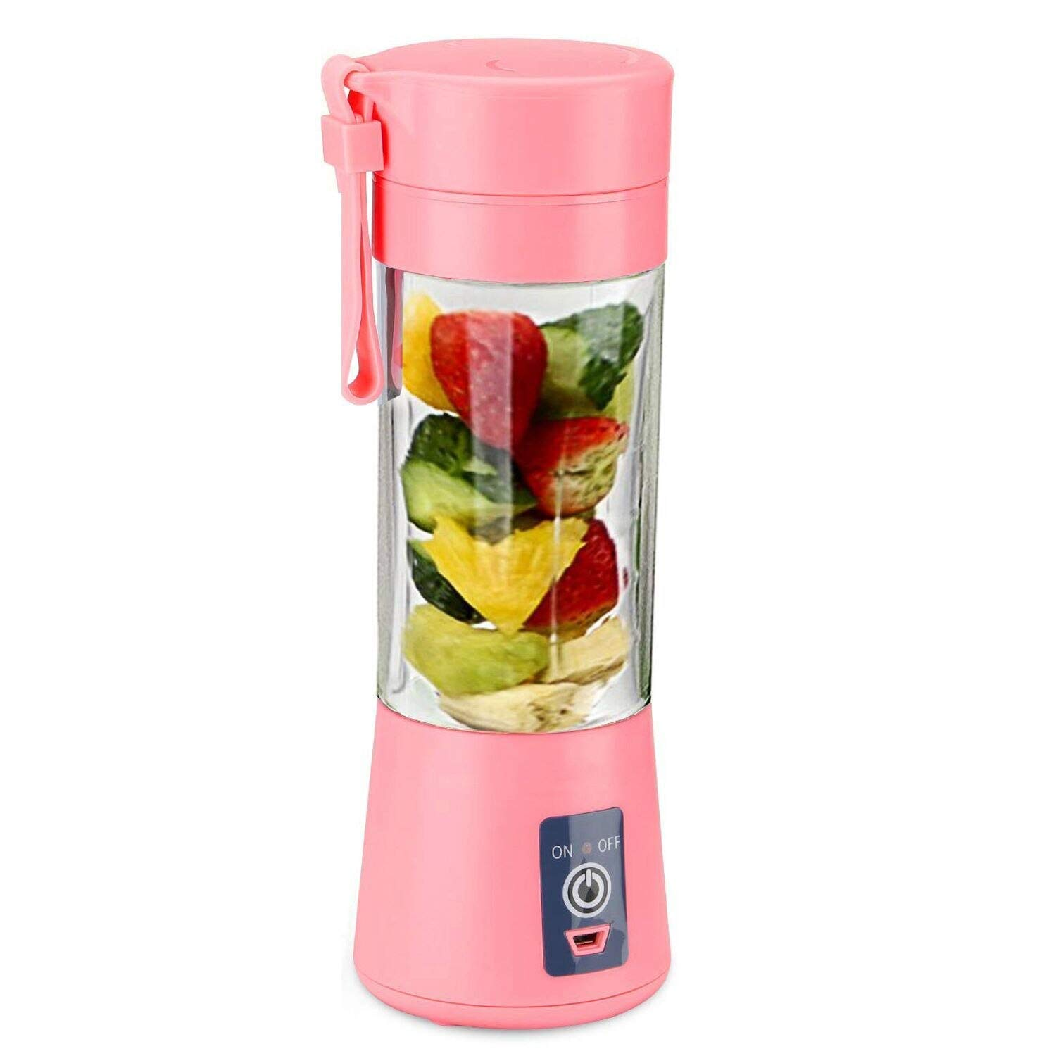 Juicer 400Ml 6 Blades Handhels Juicer Bottle Portable Mini Usb Electric Fruit Lemon Juicer Blender Squeezer Reamer