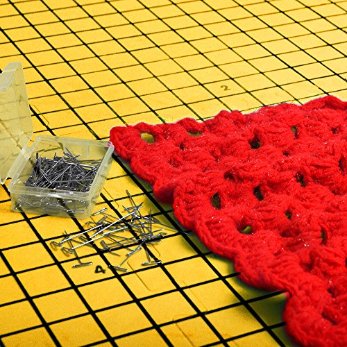 Blocking Mats For Knitting Precise Grid With 1 Inch