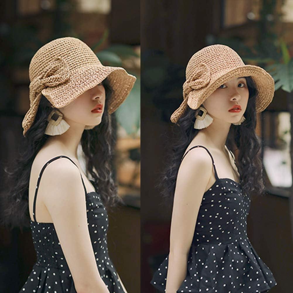 sombrero de playa de paja sombrero de ala ancha paja paja shenruifa 2021 Sombrero de moda para mujer