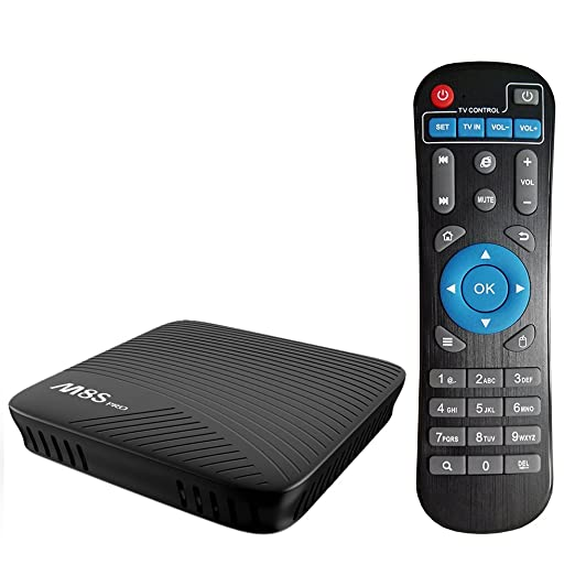 3 opinioni per Docooler M8S PRO Smart Box TV Android 7,1 Amlogic S912 Octa-core 64 Bit 3GB DDR4