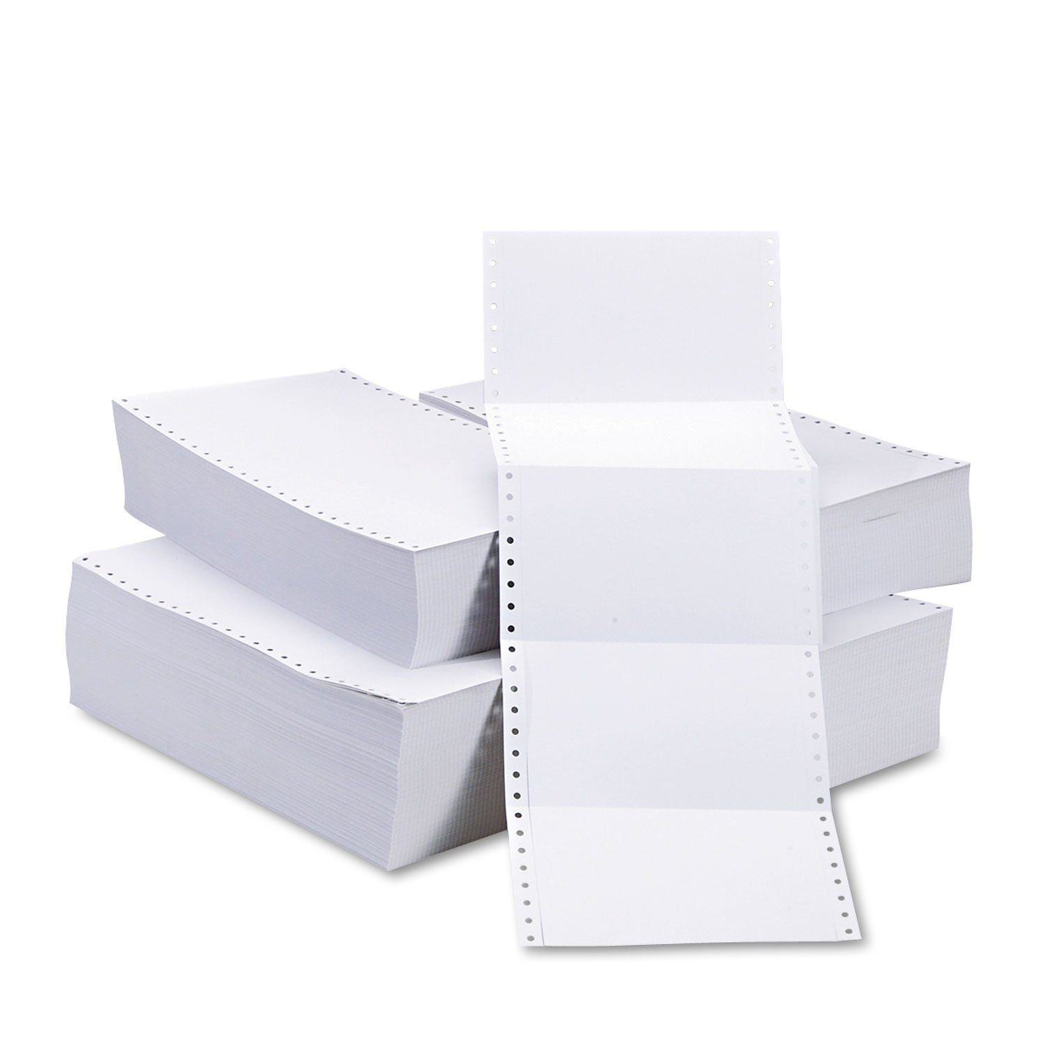 Universal 74146 Continuous Postcards, 4 x 6 (Case of 4000)
