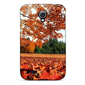 Snap-on Case Designed For Galaxy S4- Park In Autumn