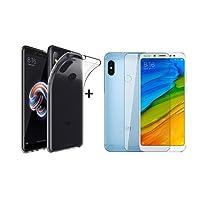 Capa Case + Pelicula Gel para Xiaomi Redmi Note 5
