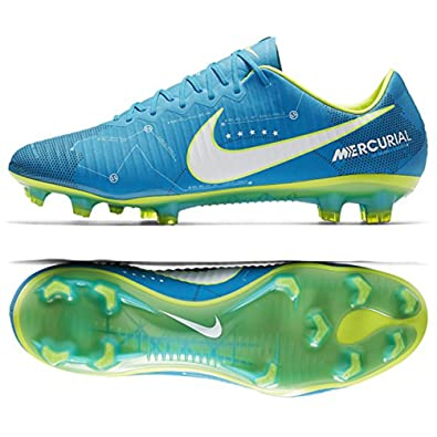 detailed look 301d3 c14ac Nike Men s Mercurial Vapor XI NJR FG Soccer Cleat (Sz. 12) Blue Orbit