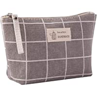 Pikajiu Cotton and Linen Large-Capacity Multi-Function Cosmetic Bag