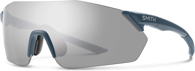 Smith Optics Reverb ChromaPop Sunglasses, Matte Iron/ChromaPop Platinum Mirror, One Size