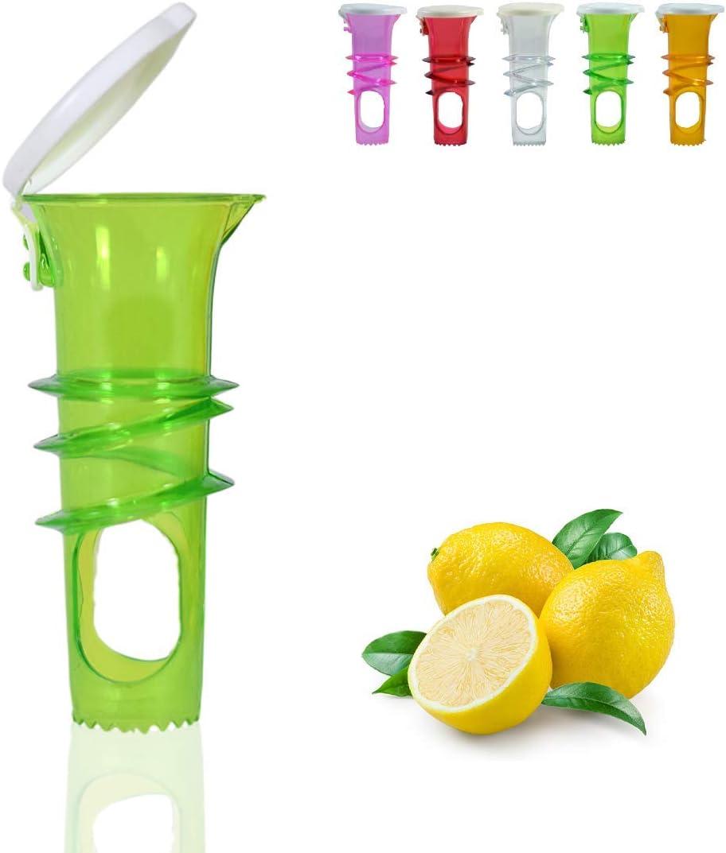 Lemonisch Lemon Juicer with Lid Manual Lemon Squeezer Citrus Juice Pack of 5