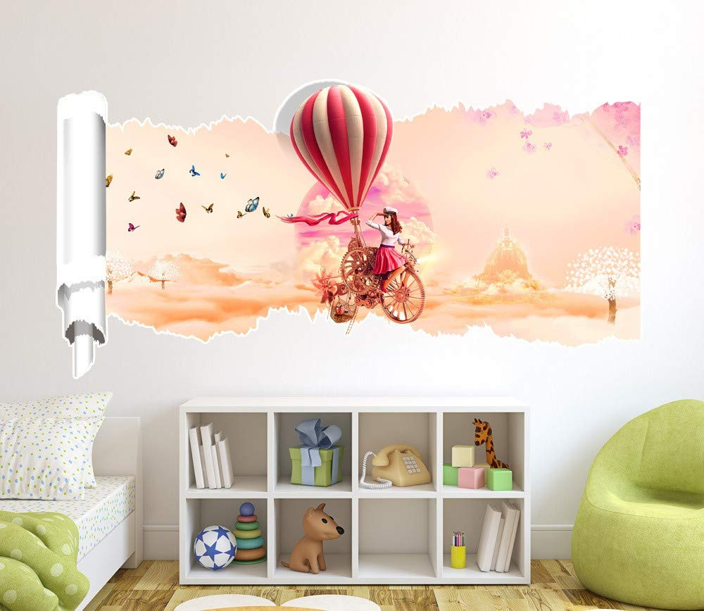Amazon.com: Wall Stickers for Bedroom,3D (Shark) Cartoon ...