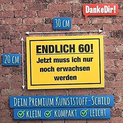 DankeDir!. por Fin de 60 años, plástico Cartel - 60 ...
