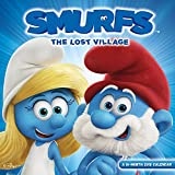 Smurfs The Lost Village 2018 Wall Calendar by