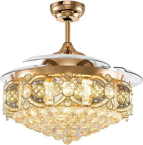 Healer 42 Inch Crystal Ceiling Fan