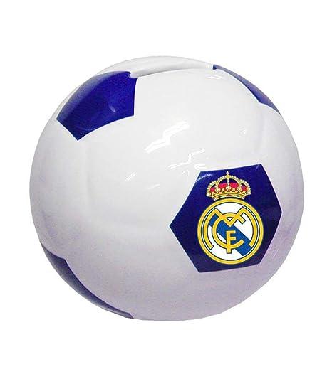 CYP IMPORT S cerámica con Forma de balón de Real Madrid Huchas Decorativas Muebles Pegatinas Decoración del hogar Unisex Adulto, Multicolor ...