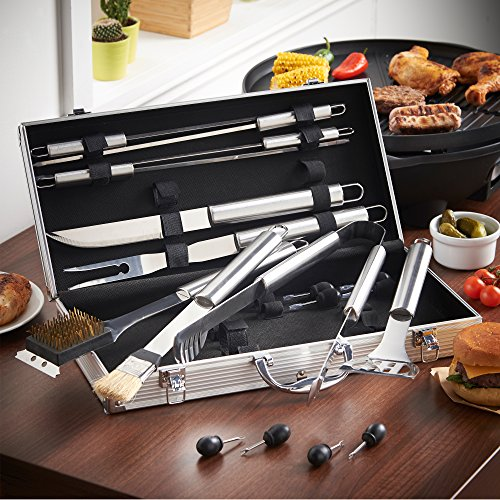 VonHaus-18-Piece-Stainless-Steel-BBQ-Accessories-Tool-Set-Includes-Aluminum-Storage-Case-for-Barbecue-Grill-Utensils