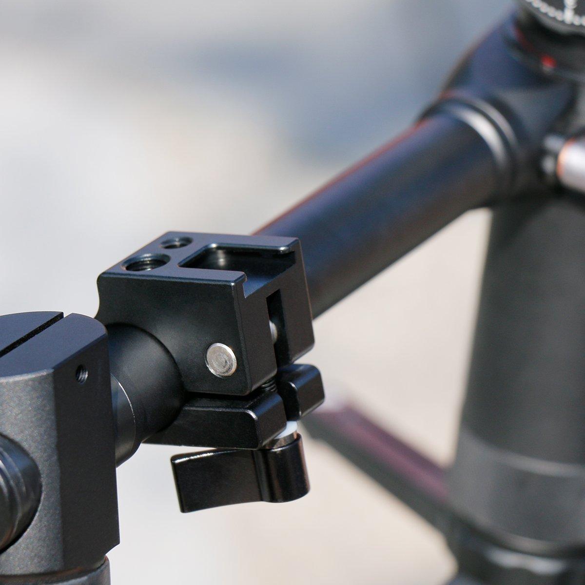 Zhiyou - Soporte para monitores de luz con Doble rótula para ...
