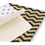 Lot de 2 carnets A6 absolument Fabuleuse or & blanc