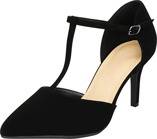 look good shoes sale many fashionable the best Amazon.com   City Classified Comfort Women's Pinty Toe T-Strap Mid ...